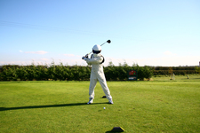 Burstwick Country Golf - News > The Stig plays golf at Burstwick!