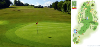 Course : Chislehurst Golf Club in Kent - CLUB View