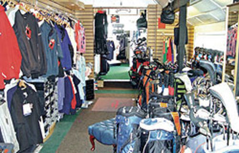 Pro Shop : Cooden Beach Golf Club - East Sussex Golf Club - CLUB View