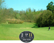 2nd hole at Dorking Golf Club