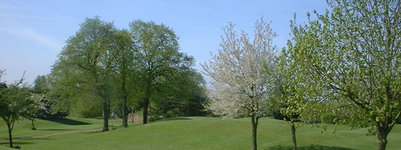 Faringdon par 3 golf course near Swindon/Oxfordshire 9-