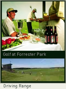 The Forrester Park Resort Driving Range
