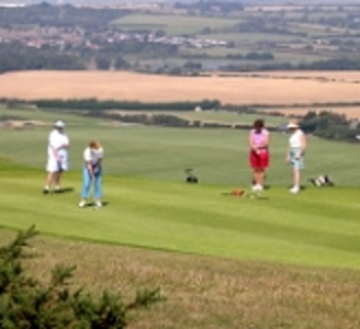 Isle of Wight golf at Freshwater Bay Golf Club