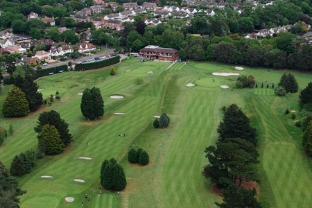 The Course : Highcliffe Castle Golf Club: CLUB View