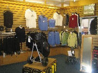The shop at Luffenham Heath Golf Club