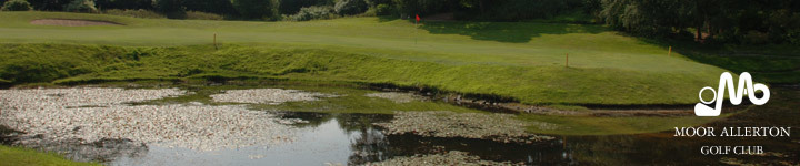 Welcome to Moor Allerton Golf Club, a 27 hole championship golf course