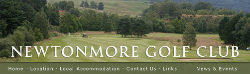 Newtonmore Golf Club : Welcome