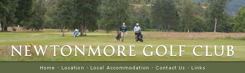Newtonmore Golf Club : News + Events