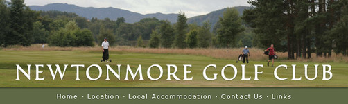 Newtonmore Golf Club : Membership + Green Fees