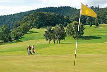 Peebles Golf Club, Contact information, how to find us, Google map <b>...</b>