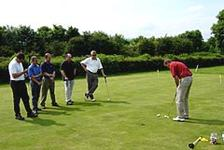 Golf lessons at Penrith Golf Centre in Cumbria