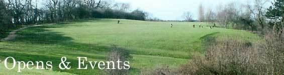 Opens and Events and The Rushcliffe Golf Club