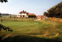 Sheringham Golf Club on the north Norfolk coast in East Anglia.