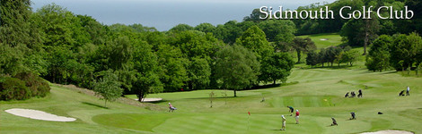 WELCOME TO THE VISITORS AREA : Sidmouth Golf Club in Devon - CLUB View
