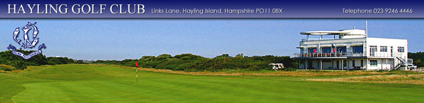 Home Page : Hayling Golf Club in Hampshire - CLUB View