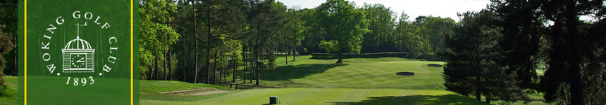 Visitors : Woking Golf Club